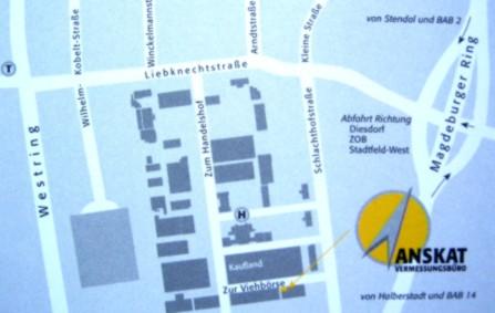 Vermessung Sachsen Anhalt ,,...